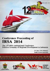 12 th IRSA INTERNATIONAL CONFERENCE PROCEEDING