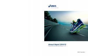 12 Transitional nine-month period ended December 31, ASICS Corporation