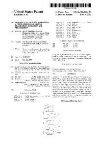 (12) United States Patent (10) Patent No.: US 6,343,936 B1