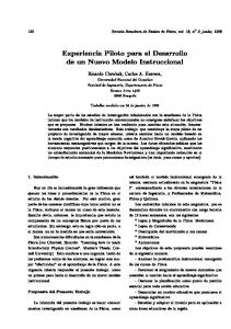 122 Revista Brasileira de Ensino de Fsica, vol. 18, n ọ 2, junho, Universidad Nacional del Comahue. Facultad de Ingeniera, Departamento de Fsica