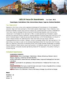 12D11N Focus On Scandinavia Tour Code
