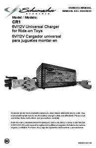 12V Cargador universal para juguetes montar-en