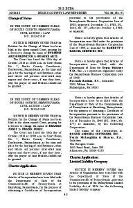 13 BUCKS COUNTY LAW REPORTER Vol. 86, No