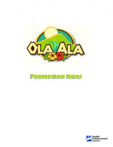 130+ Ways to Promote Ola Ala