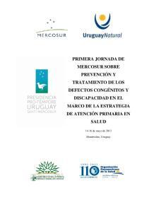 14-16 de mayo de Montevideo, Uruguay