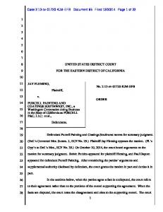 14 Page 1 of 22 UNITED STATES DISTRICT COURT