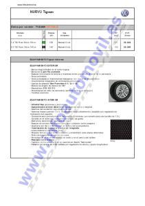 1.4 TSI Front Drive 150 cv. G 150 Manual 6 vel TDI Front Drive 140 cv. D 140 Manual 6 vel