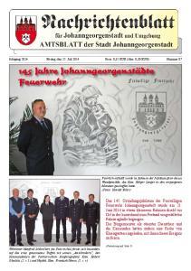 145 Jahre Johanngeorgenstädte Feuerwehr