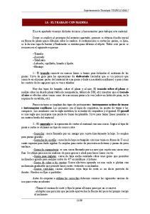 1.5.- EL TRABAJO CON MADERA