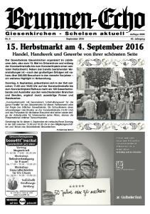 15. Herbstmarkt am 4. September 2016