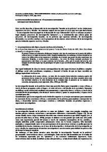 1.5 INVESTIGACIÓN REALIZADA EN TÍTULACIONES SUPERIORES: ENFOQUES METODOLÓGICOS