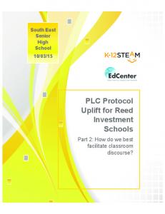 15 PLC Protocol Uplift for Reed Investment Schools