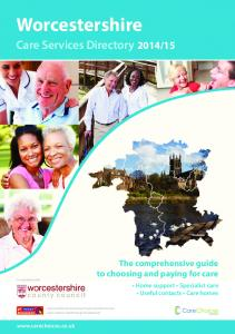 15. The comprehensive guide to choosing and paying for care