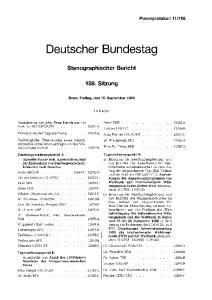 159. Inhalt: Irmer FDP