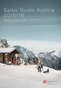 16. A guide to unique Austrian experiences