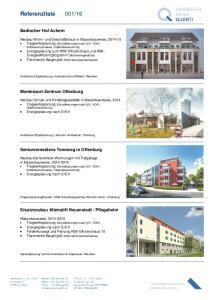 16. Badischer Hof Achern. Montessori-Zentrum Offenburg. Seniorenresidenz Tannweg in Offenburg