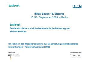 16. September 2009 in Berlin