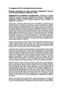17 de agosto de Universidad Nacional de Quilmes