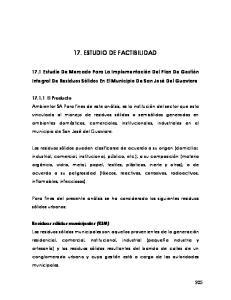 17. ESTUDIO DE FACTIBILIDAD
