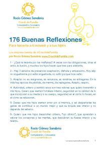 176 Buenas Reflexiones