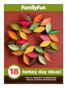 18 turkey day ideas! EASY & ADORABLE THANKSGIVING TREATS, CRAFTS & DECORATIONS