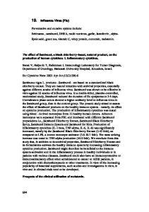 19. Influenza Virus (Flu)