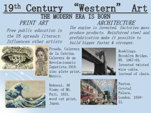 19 th Century Western Art