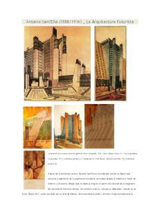 1916) _ La Arquitectura Futurista