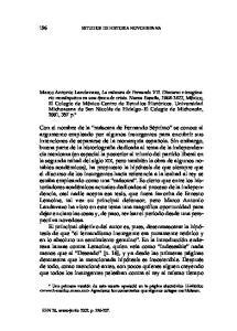 196 ESTUDIOS DE HISTORIA NOVOHISPANA