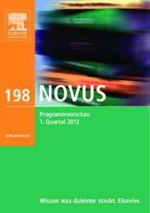 198 NOVUS. Wissen was dahinter steckt. Elsevier. Programmvorschau 1. Quartal