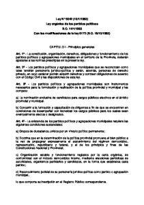 1983 Con las modificaciones de la ley 6172 (B.O