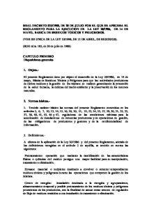 1998, DE 21 DE ABRIL, DE RESIDUOS)
