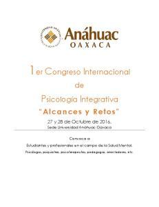 1er Congreso Internacional