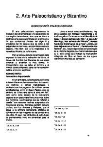 2. Arte Paleocristiano y Bizantino