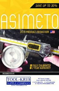 2 ASIMETO 2015 PRODUCT PROMOTION