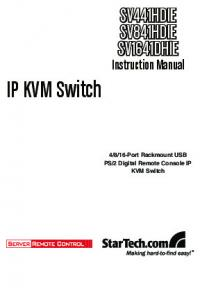 2 Digital Remote Console IP KVM Switch