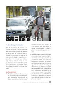 2. El ciclista. 1. El ciclista y el conductor