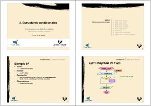 2. Estructuras condicionales. Ej07: Diagrama de Flujo