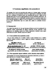 2. Funciones y significados del pronombre it
