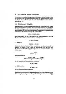2 Funktionen einer Variablen