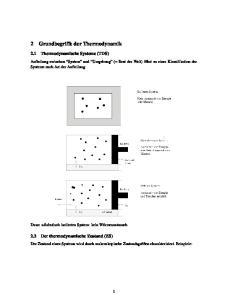 2 Grundbegriffe der Thermodynamik