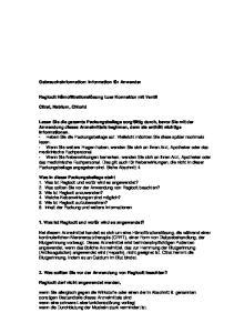 2. Was sollten Sie vor der Anwendung von Regiocit beachten?