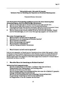 2. Was sollten Sie vor der Anwendung von Sorbisterit beachten?
