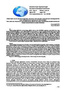2. YÖNTEM Evren ve Örneklem Araştırma Modeli