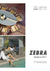 20 Jahre Kollektion 2017 Preisliste