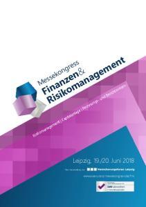 20. Juni Risikomanagement Kapitalanlage Rechnungs- und Berichtswesen