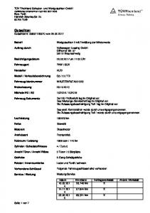 2.0 TDI WAUZZZ8R9EA Dieselmotor