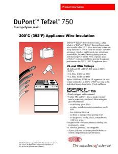 200 C (392 F) Appliance Wire Insulation