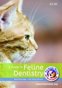 2.00. Feline Dentistry. A Guide To. Bob Partridge Pet Smile Month
