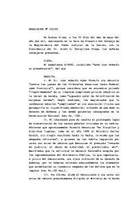 2000, caratulado Aymo Juan Roberto su presentación, del que